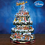 The Wonderful World Of Disney Christmas Tree: Collectible Disney Tabletop Christmas Decor